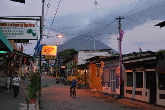 Main Street in Moyogalpa