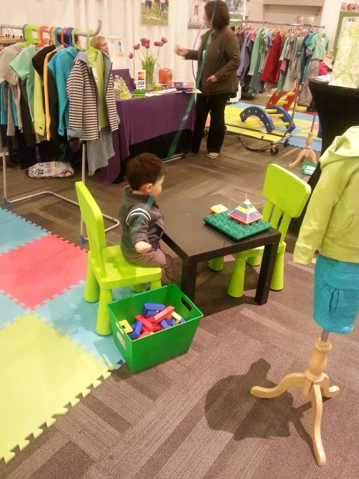 Playing at the Booth