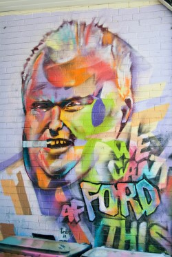 Rob Ford Mural in Kensington Market