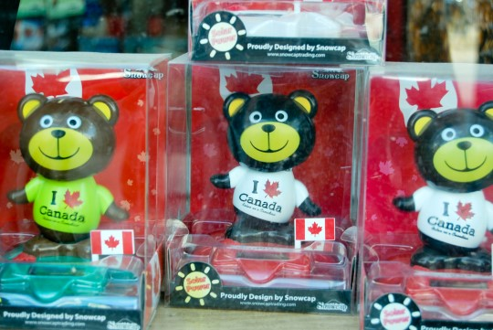 Canadian Souvenirs in Chinatown