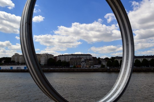 Buren Rings Along the Quai des Antilles