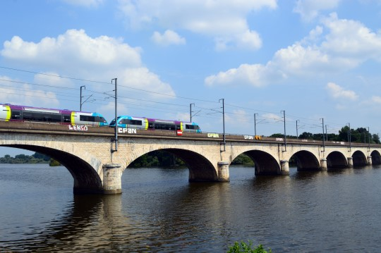 TGV Across the River