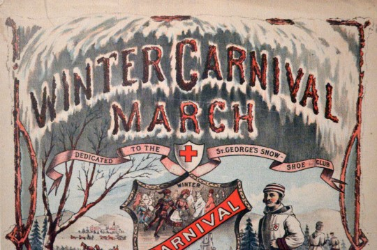 Winter Carnival (Ahem... in March?)