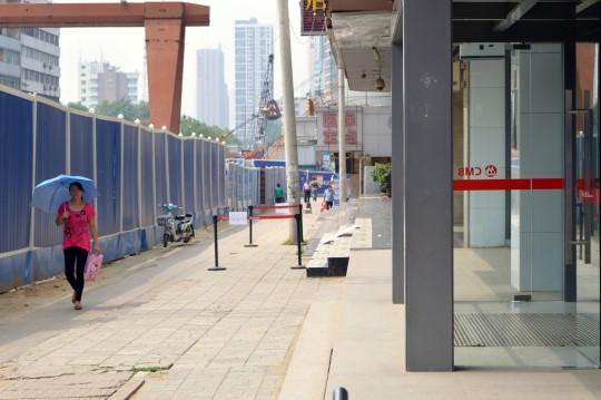 Pedestrian in Changsha