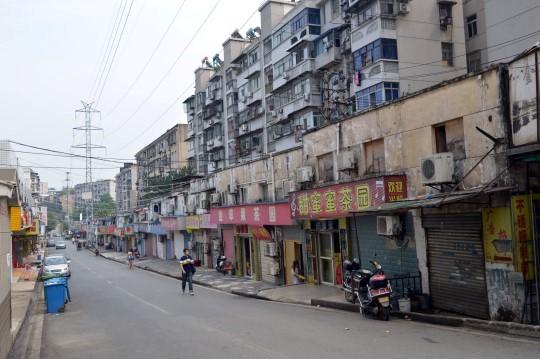 Street in Wuhan