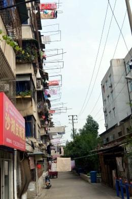 Side Street in Wuhan