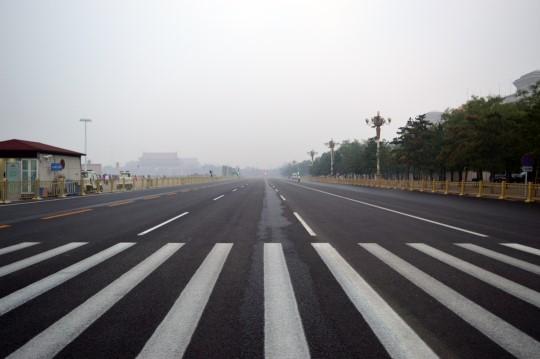 Empty Chang'An Jie