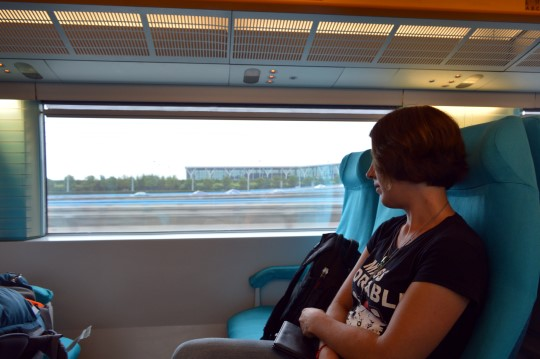 In the Maglev