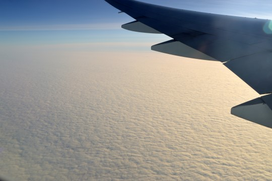 Above the North Pole