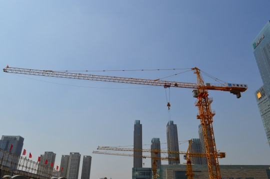 Cranes in Shenyang