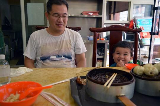 Breakfast in Wang Fu Jing