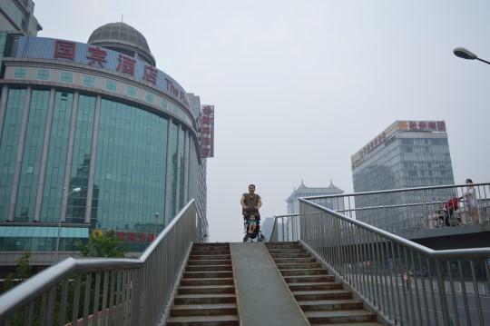 Along Fuchengmen