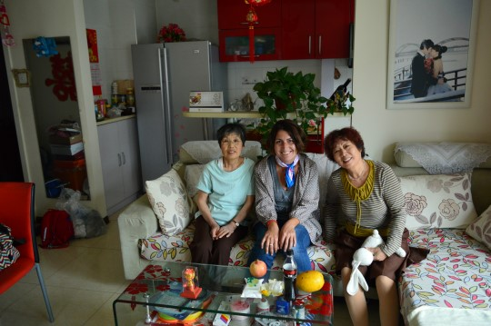 With Feng's Mother and Aunt