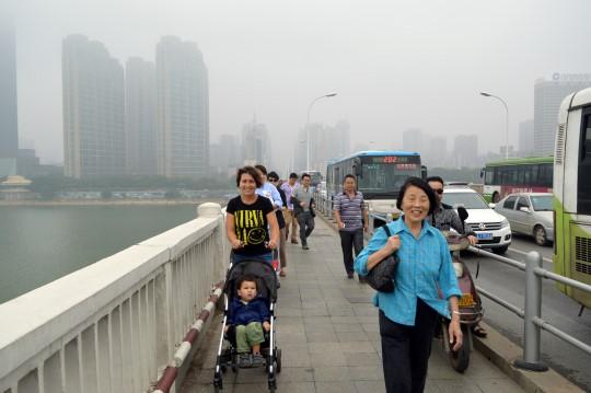 Crossing the Yangzi