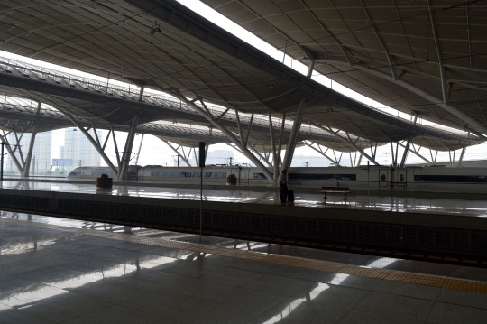 Wuhan's Train Station