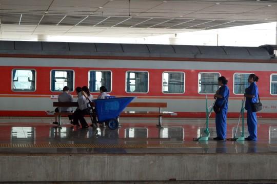 Wuhan's Train Station