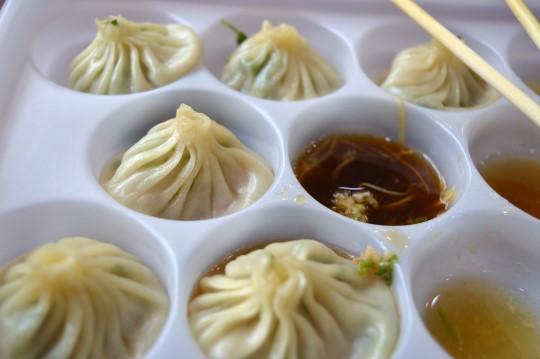 小笼包 (Shanghai-Style Dumplings)