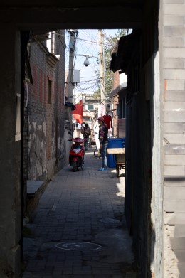 Hutong in Qianmen