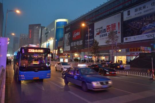 Taiyan Jie at Night