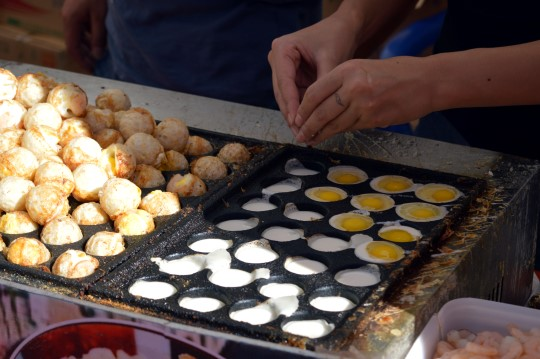 Fried Egg Dough
