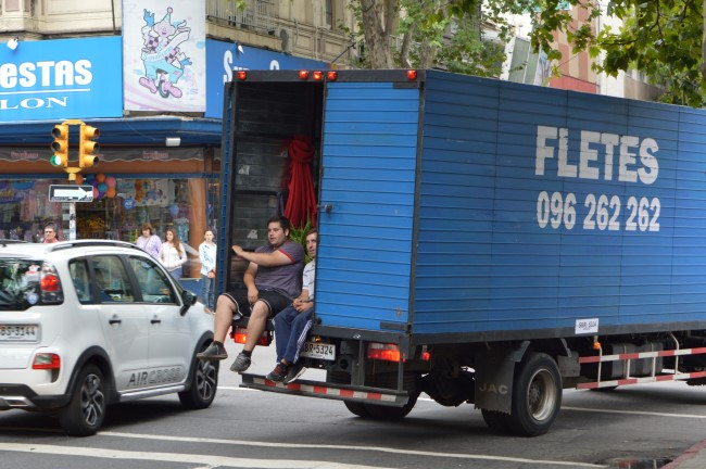 Two Guys and a Truck in Montevideo