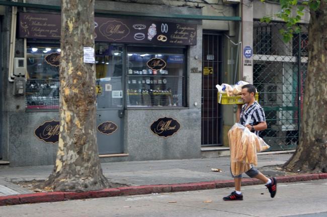 Baker in Montevideo