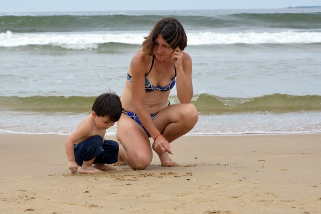 Mark's First Taste of the Beach in Uruguay