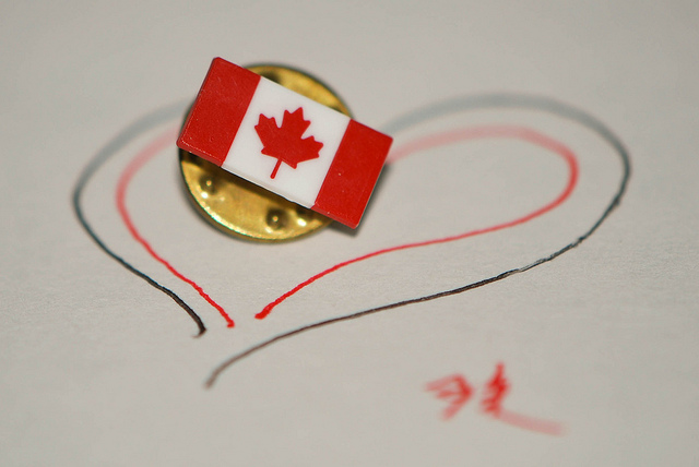 Canadian Flag Pin (from my citizenship ceremony in 2009)