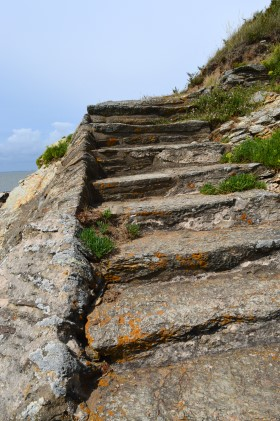 Staircase in the Cliff