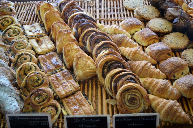 Various viennoiseries