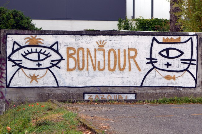 Graffiti in Nantes