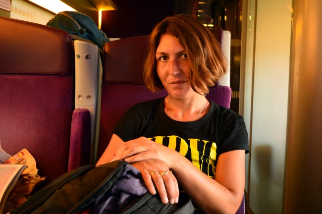 In the TGV