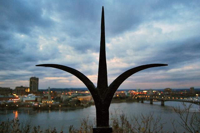 Sunset on Parliament Hill, Ottawa, 2011