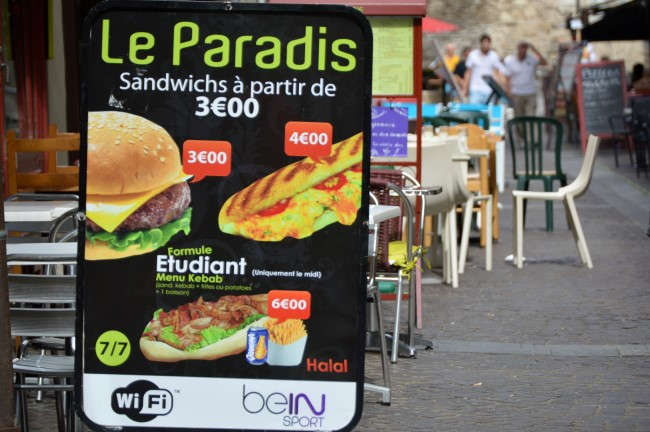 Le Paradis (for fast-food lovers)