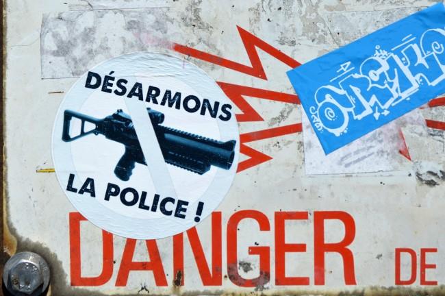 Let's disarm the police