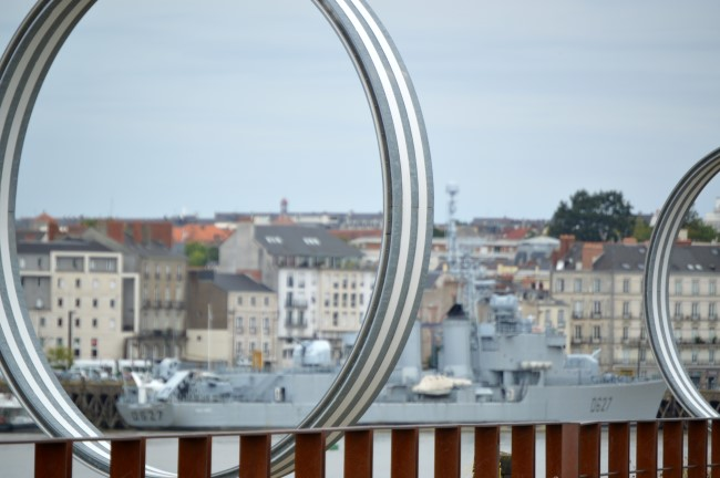 Buren Rings on the Isle of Nantes