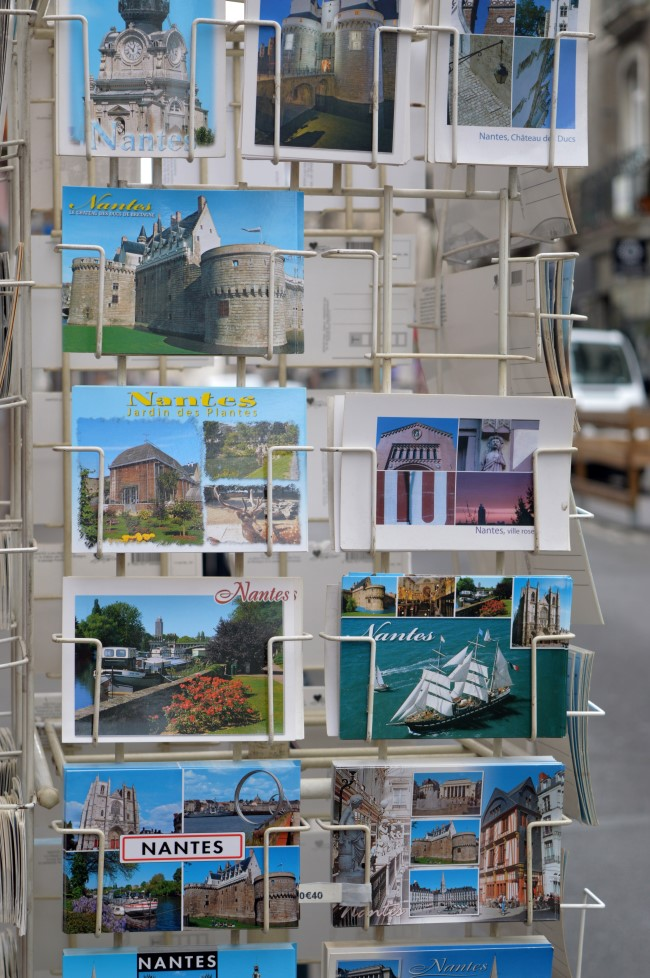 Postcards of Nantes