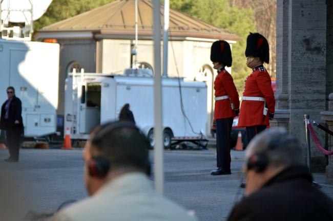 Guarding Rideau Hall