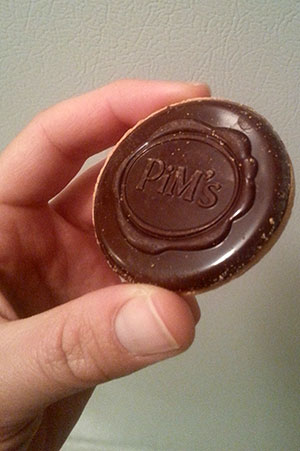 Pim's (French cookies) bought at my local supermarket in Canada