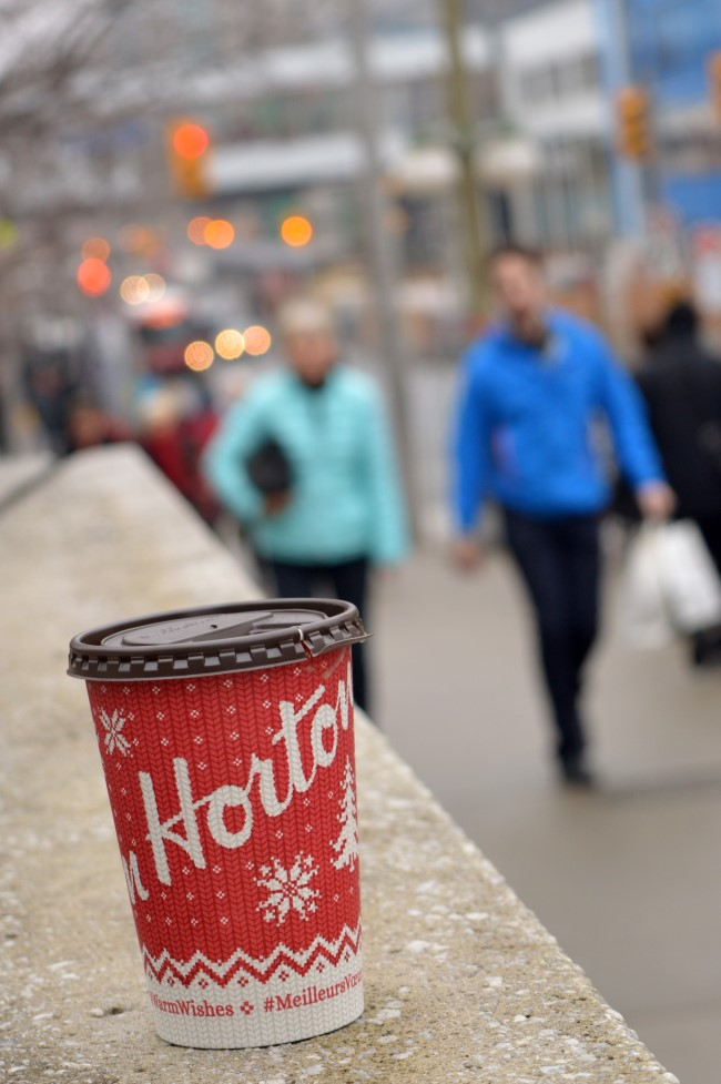 Tim Hortons Cup on Rideau Street