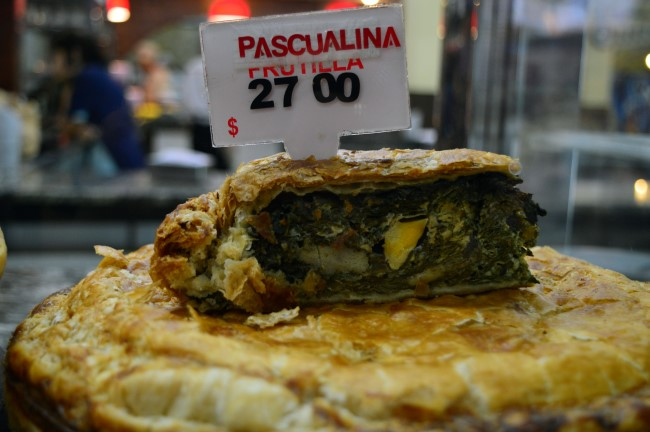 Pascualina (spinach and egg pie)