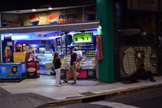 Convenience store on Corriente