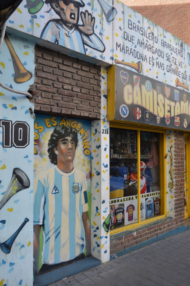 Maradona Murale