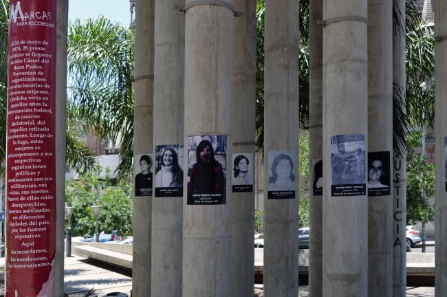 Memorial to the desaparecidos