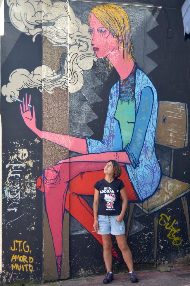 Street art of Curitiba