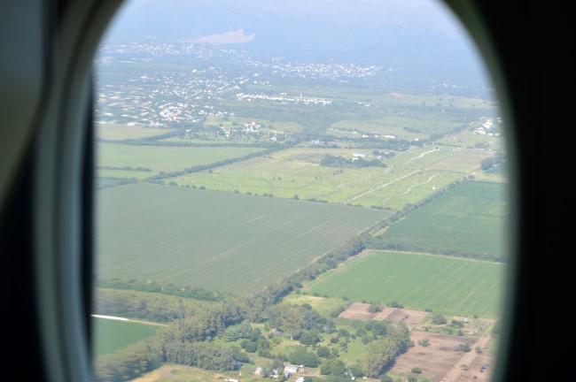Flying to Córdoba