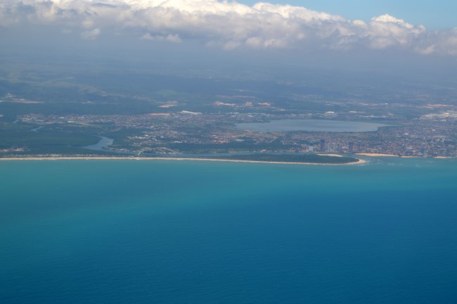 Close to Recife and the Atlantic Coast