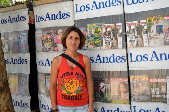 Newsstand in Mendoza
