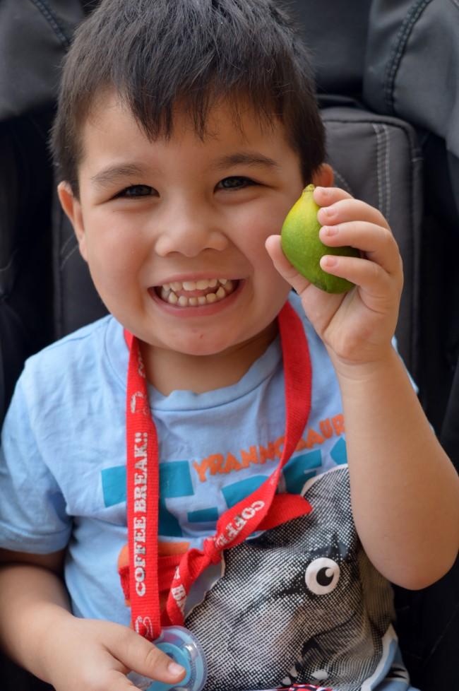 Mark found a mango