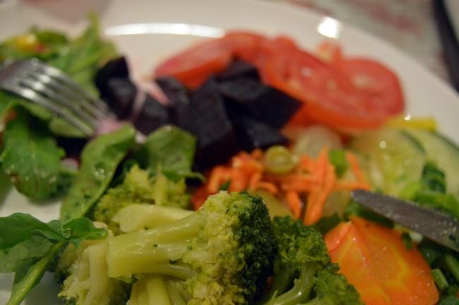 Dinner in Ponta Negra